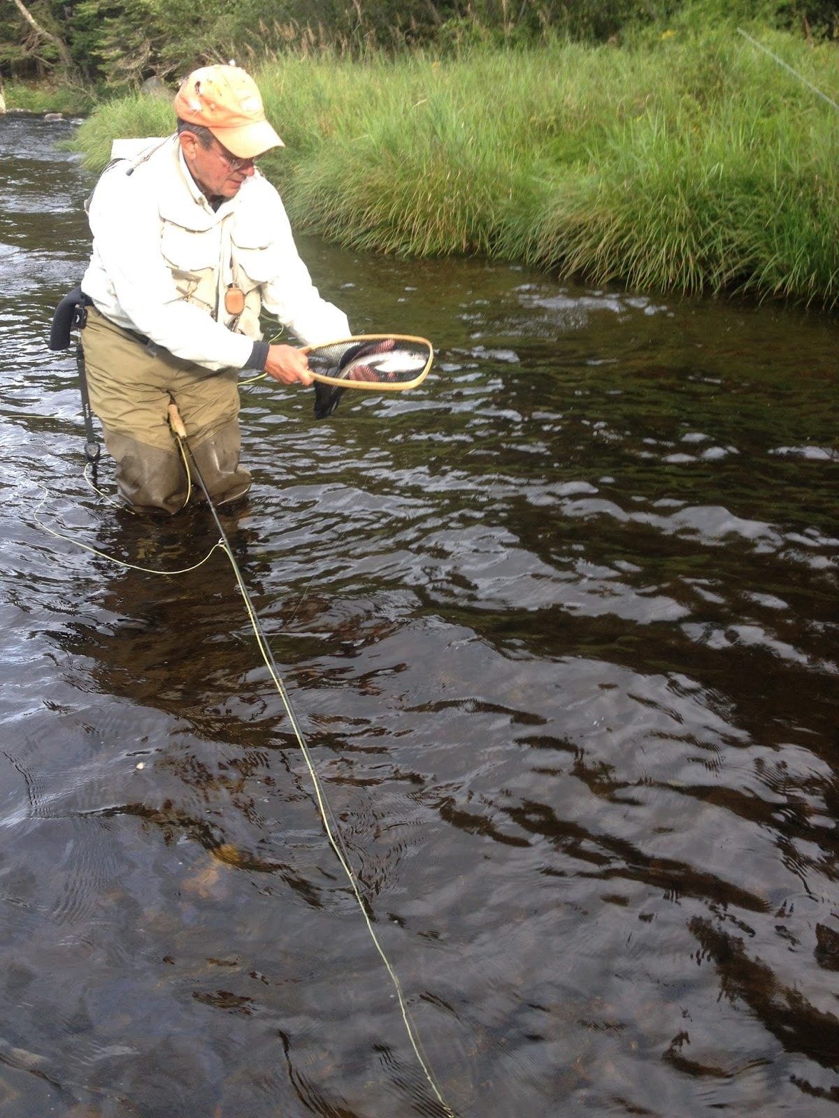 Photos fly fishing rangeley maine magalloway guide service for Maine fly fishing