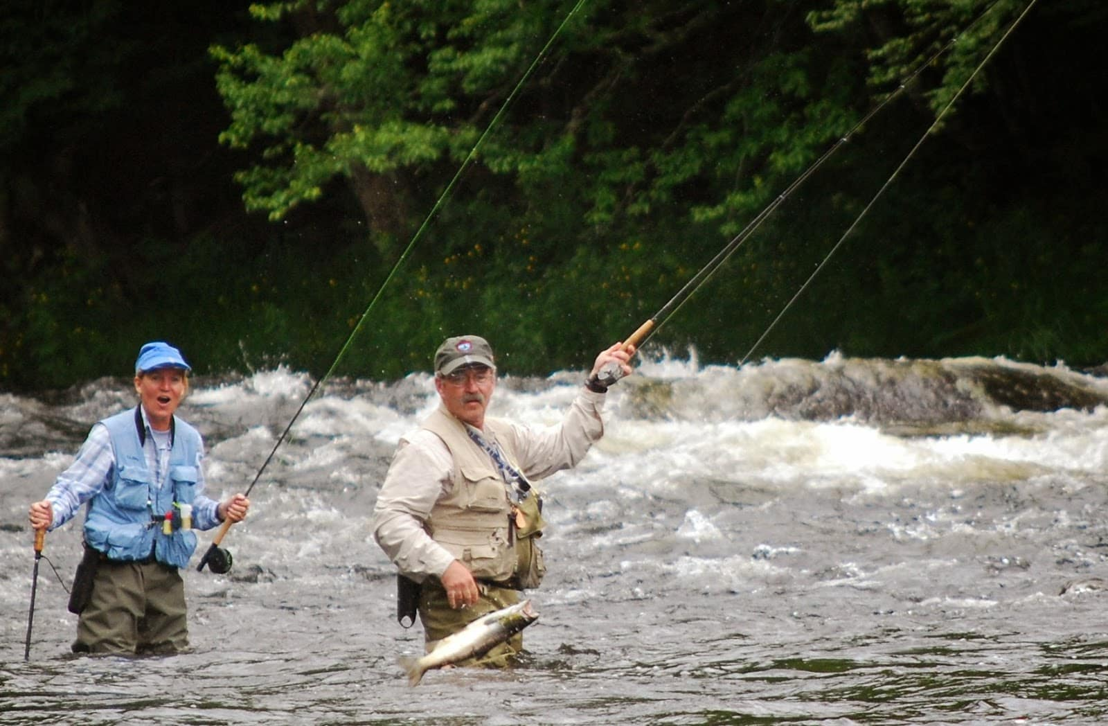 Photos fly fishing rangeley maine magalloway guide service for Fly fishing maine